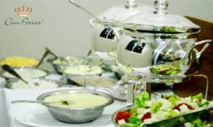 buffet de crepes saladas